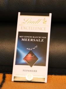 Meersalz-Schokolade von Lindt