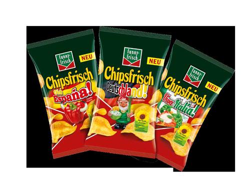 Chipssorten