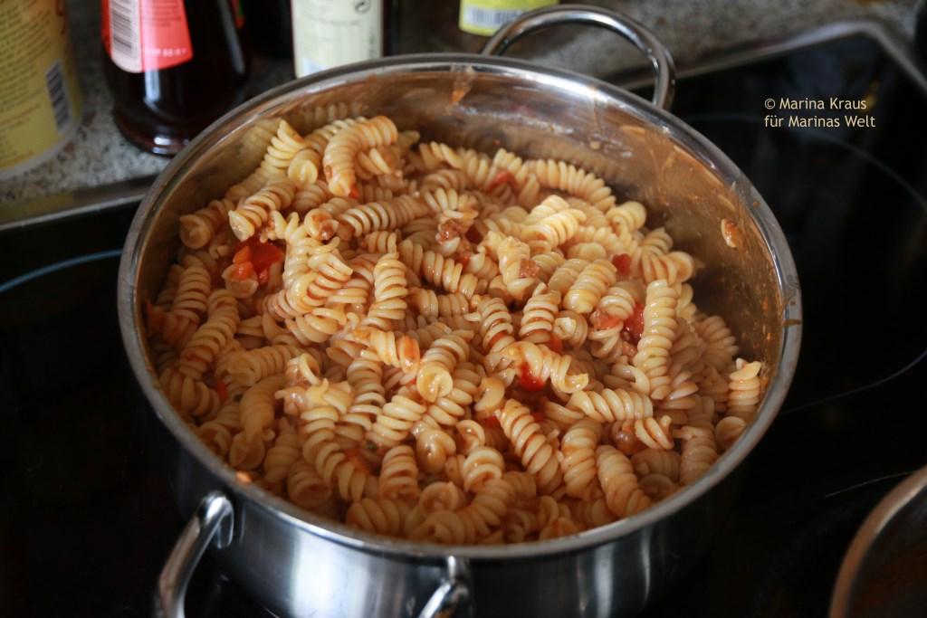 Nudeln mit Bolognese Sauce von Barilla