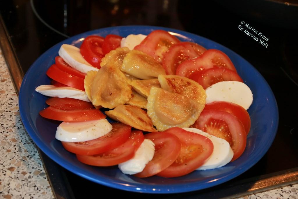 Pfannenpasta Tomaten