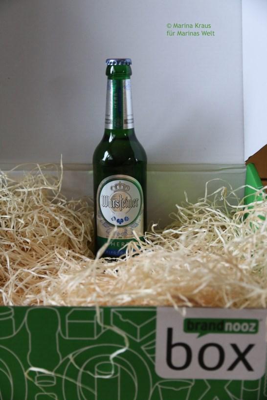 Bier Warsteiner alkoholfrei herb