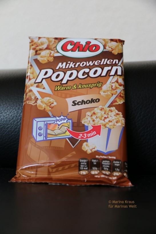Mikrowellen Popcorn Schoko