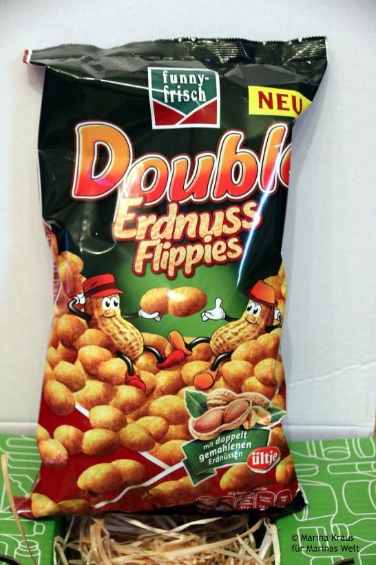 Erdnuss flips funny-frisch