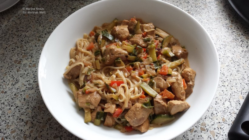 Asiatische Currypfanne